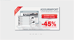 Preview of adourimport.fr