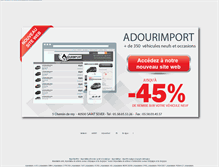 Tablet Preview of adourimport.fr